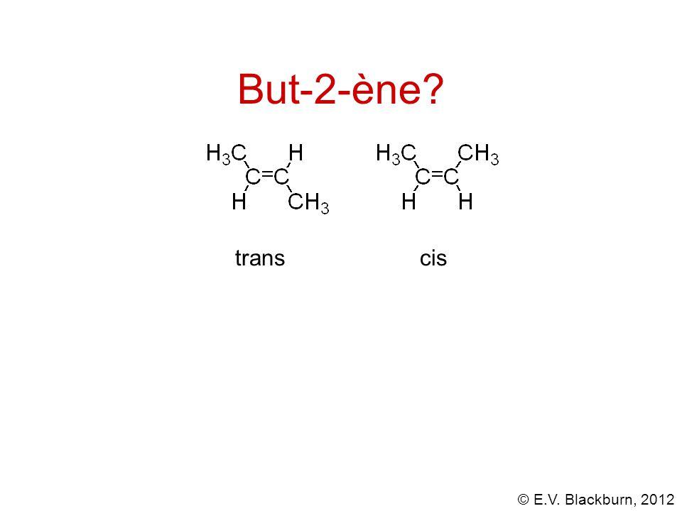 But-2-ène trans cis