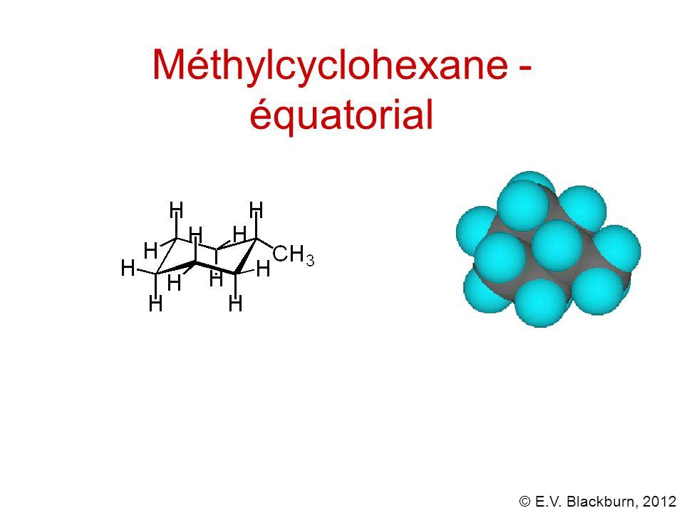 Méthylcyclohexane - équatorial