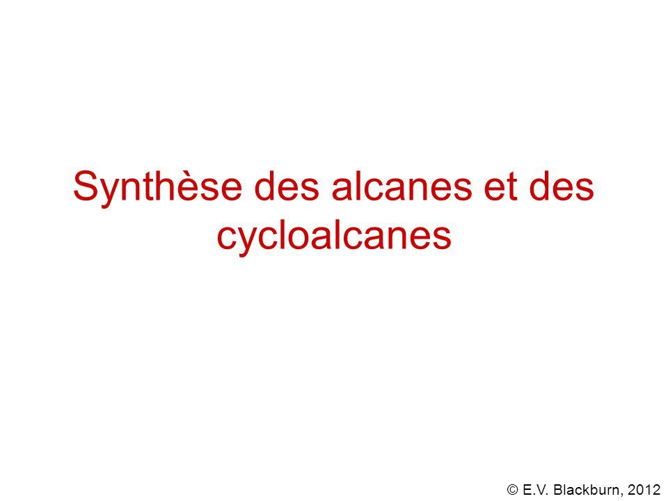 Synthèse des alcanes et des cycloalcanes