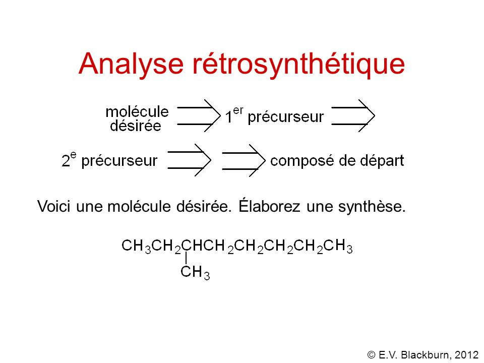 Analyse rétrosynthétique