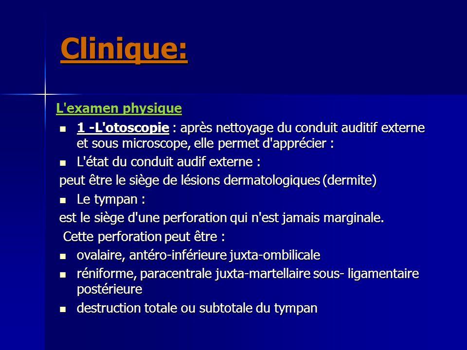 Clinique: L examen physique