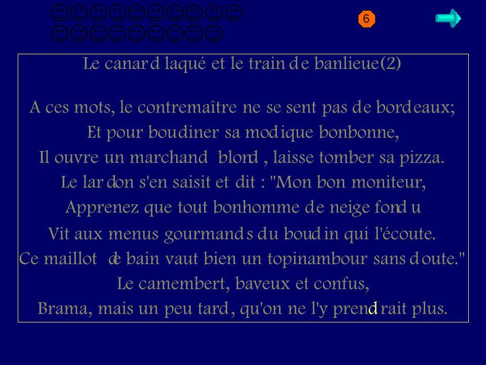 D2.2 Le canar laqué et le train e banlieue(2) d d