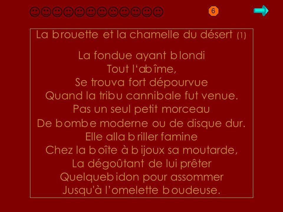B1.1 brouette La rouette et la chamelle du désert (1) b
