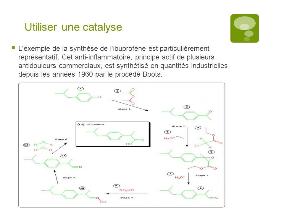 Utiliser une catalyse