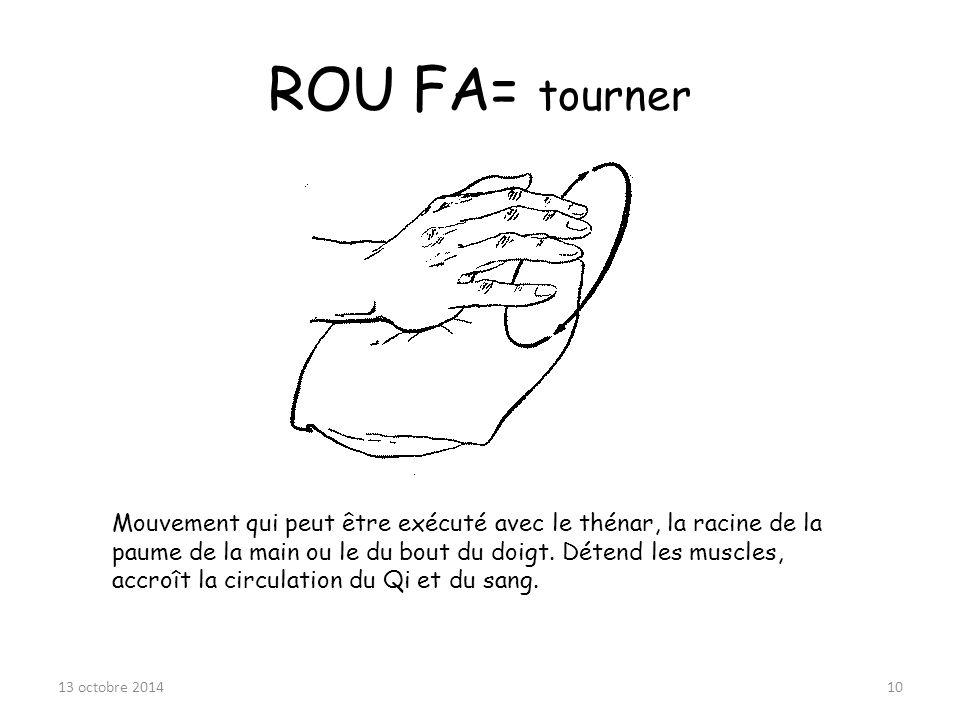 ROU FA= tourner