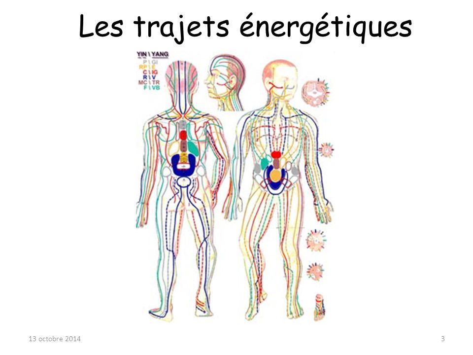 Les trajets énergétiques