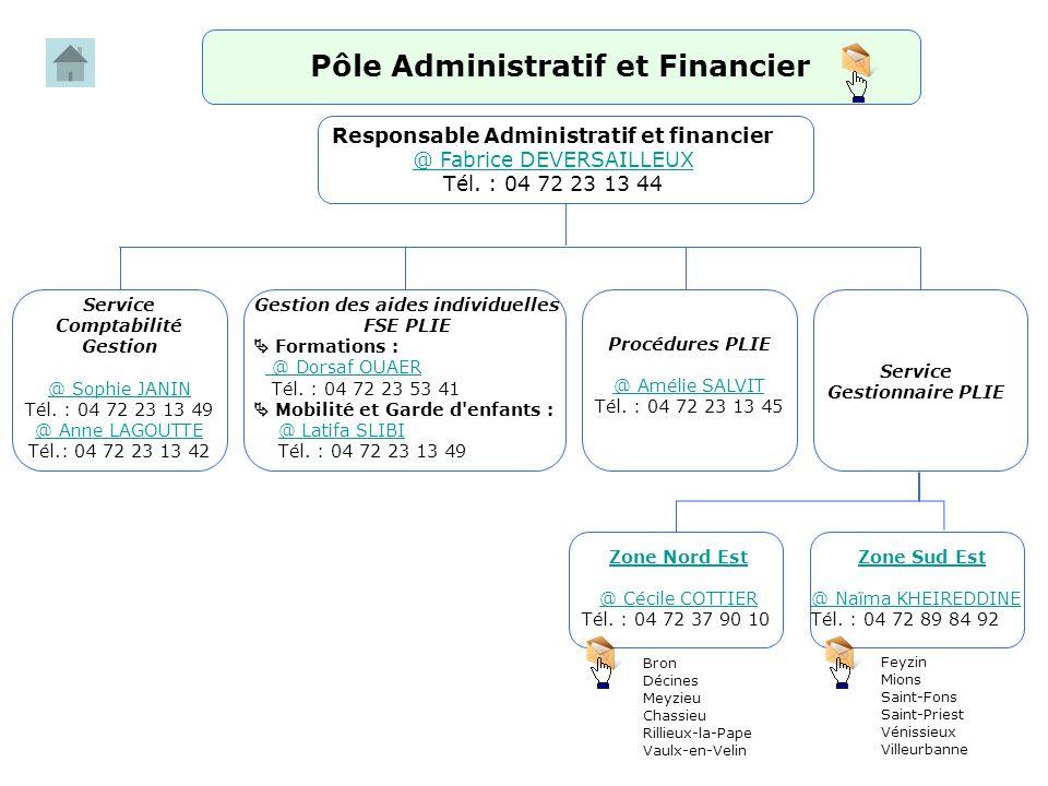 Pôle Administratif et Financier