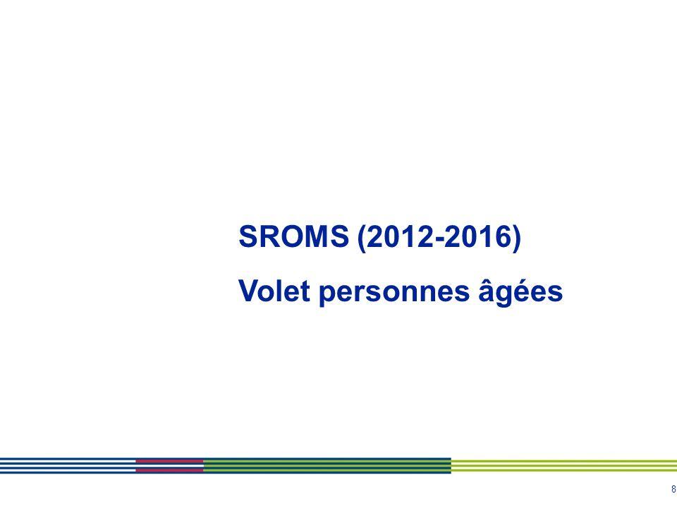 SROMS (2012-2016) Volet personnes âgées
