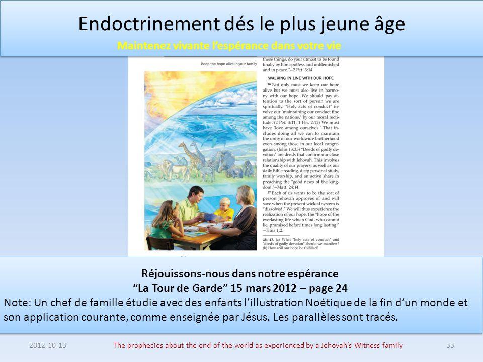 Endoctrinement dés le plus jeune âge