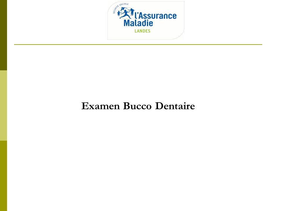 Examen Bucco Dentaire CPAM des Landes, le 2 avril 2013