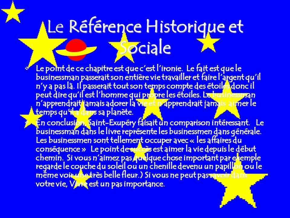 Le Référence Historique et Sociale