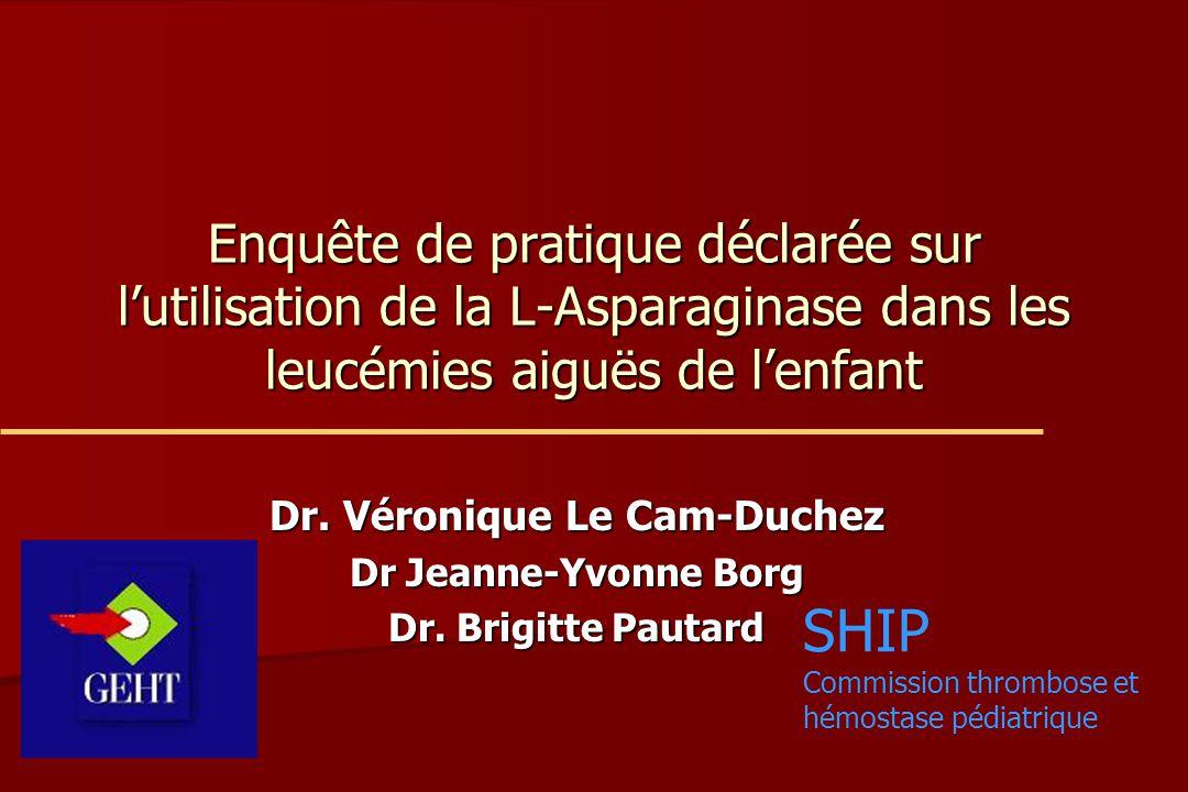 Dr. Véronique Le Cam-Duchez Dr Jeanne-Yvonne Borg Dr. Brigitte Pautard