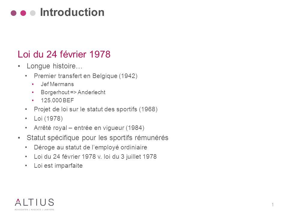 Introduction Loi du 24 février 1978 Règles spécifiques de résiliation
