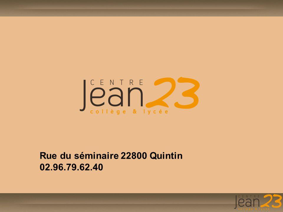 Rue du séminaire 22800 Quintin