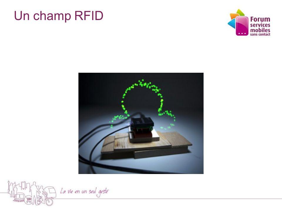 Un champ RFID