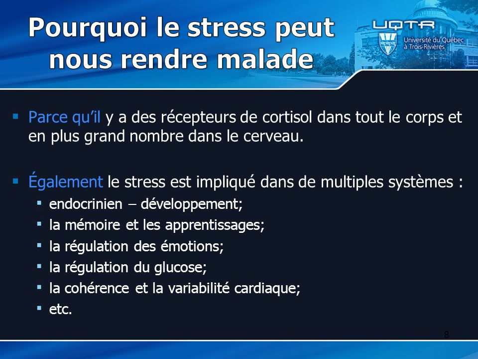 Pourquoi le stress peut nous rendre malade