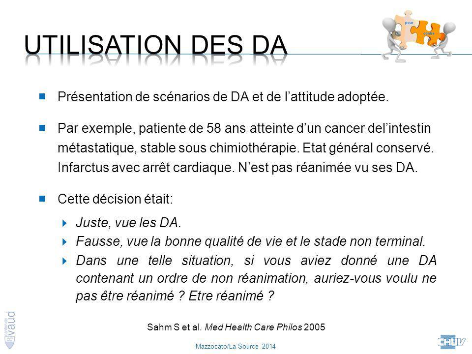 Sahm S et al. Med Health Care Philos 2005