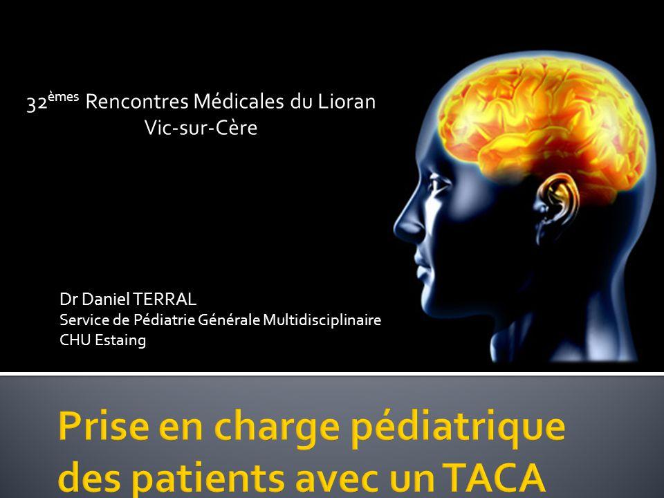 Prise en charge pédiatrique des patients avec un TACA