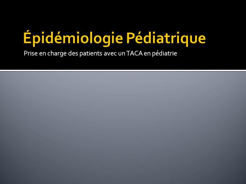 Épidémiologie Pédiatrique