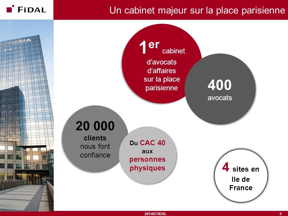 Un cabinet majeur sur la place parisienne