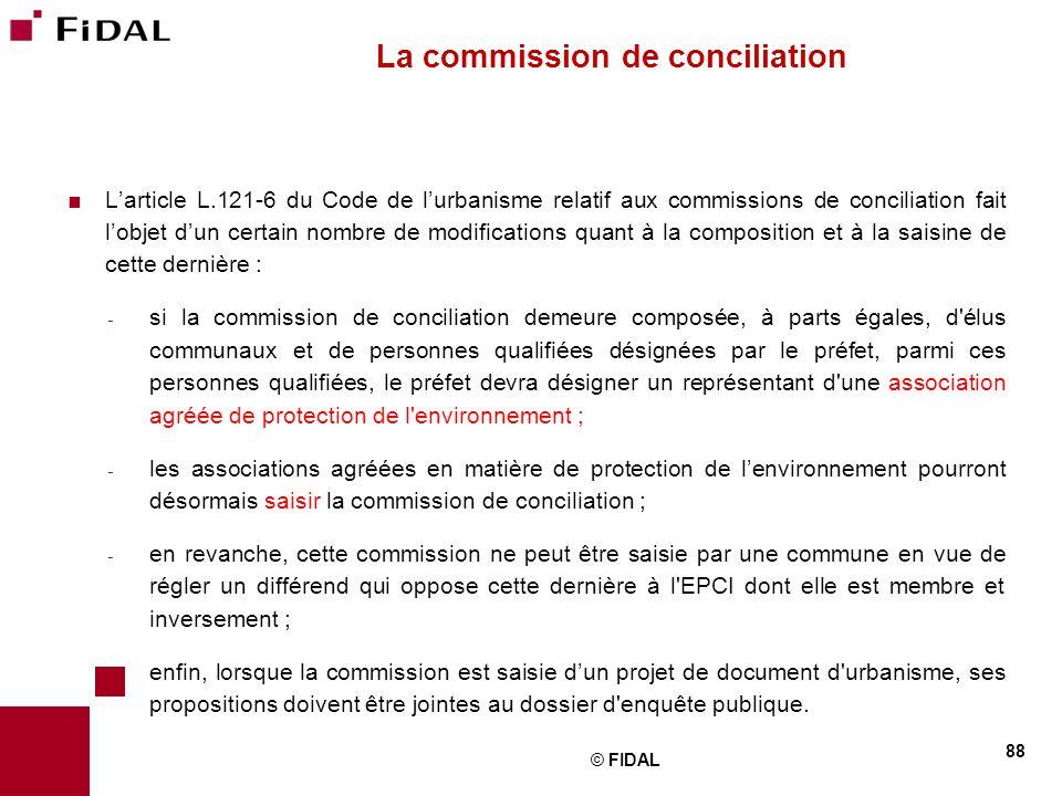 La commission de conciliation