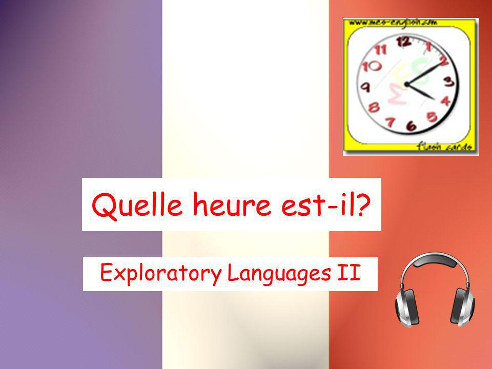 Exploratory Languages II