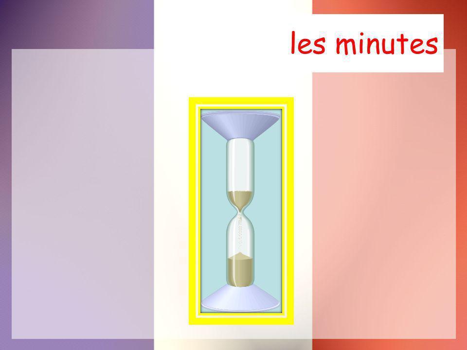 les minutes