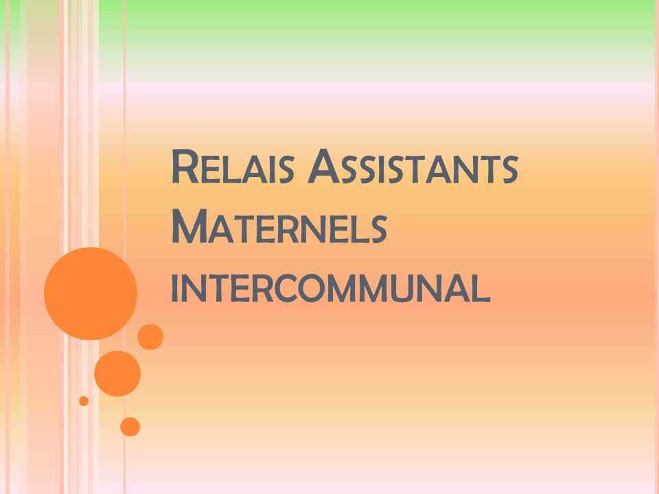 Relais Assistants Maternels intercommunal