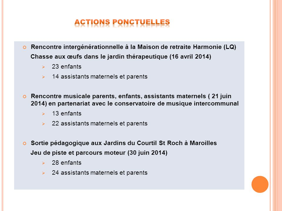 Relais assistants maternels intercommunal ppt video for Aide aux parents en maison de retraite