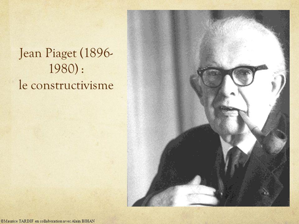Jean Piaget (1896-1980) : le constructivisme