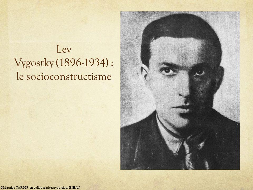 Lev Vygostky (1896-1934) : le socioconstructisme