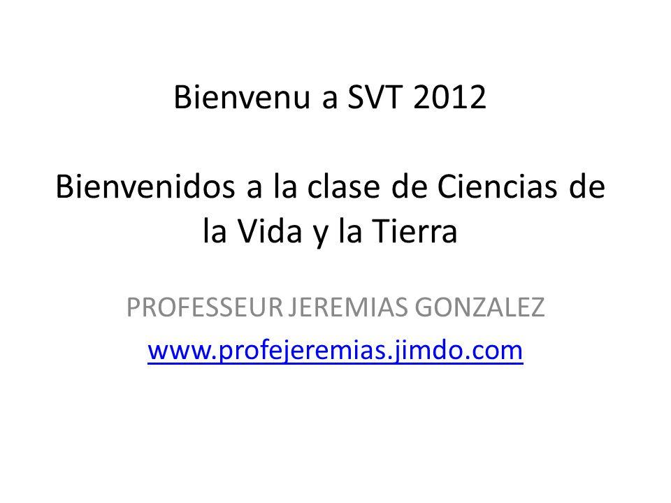 PROFESSEUR JEREMIAS GONZALEZ www.profejeremias.jimdo.com