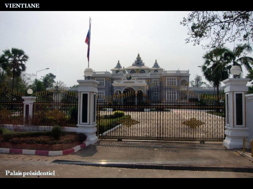 VIENTIANE Palais présidentiel