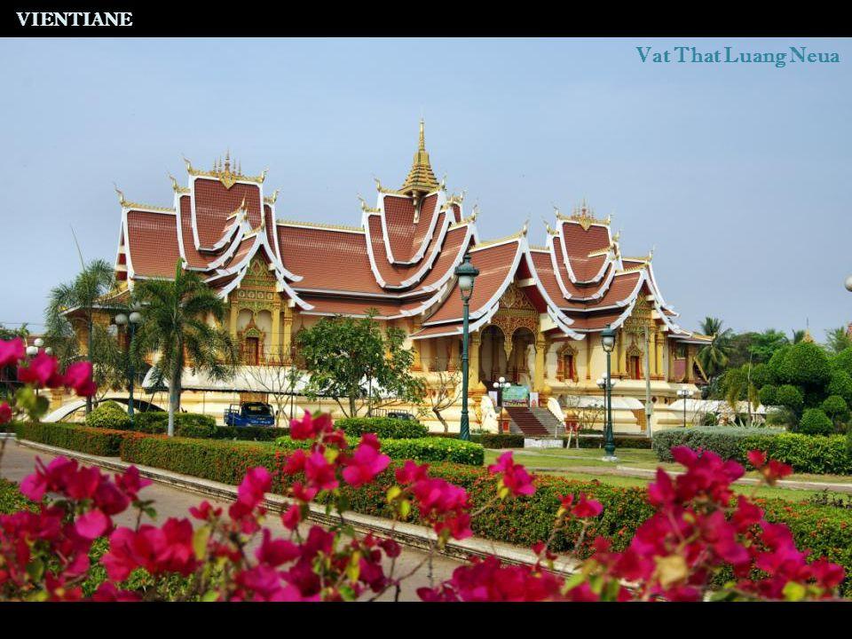 VIENTIANE Vat That Luang Neua