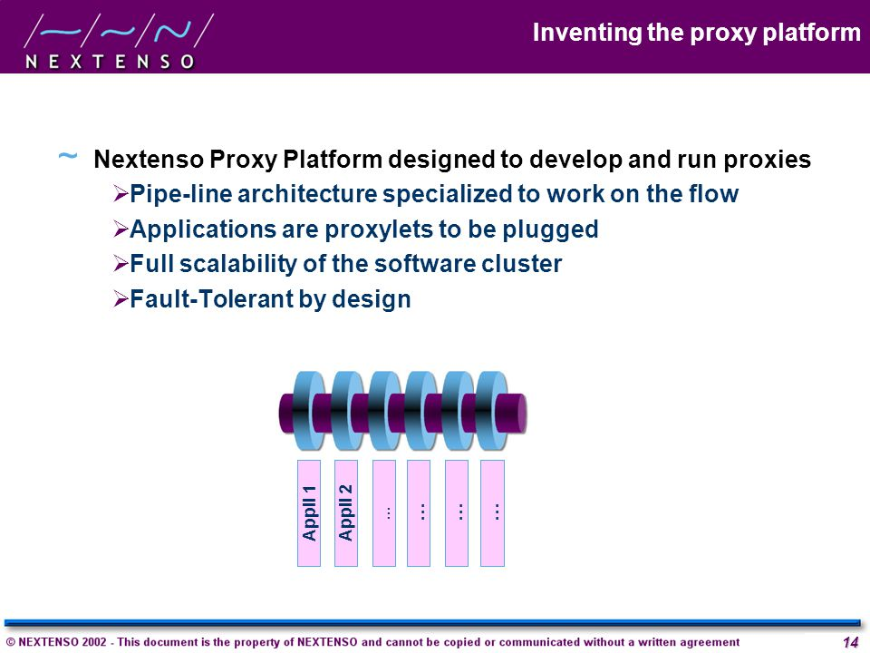 Inventing the proxy platform