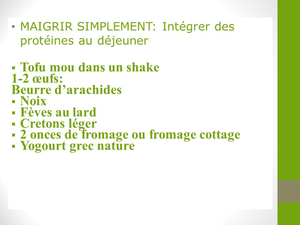 2 onces de fromage ou fromage cottage Yogourt grec nature