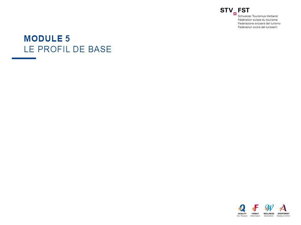 Module 5 Le profil de base