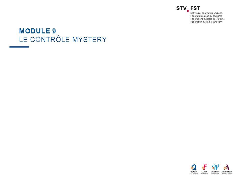 Module 9 Le contrôle mystery