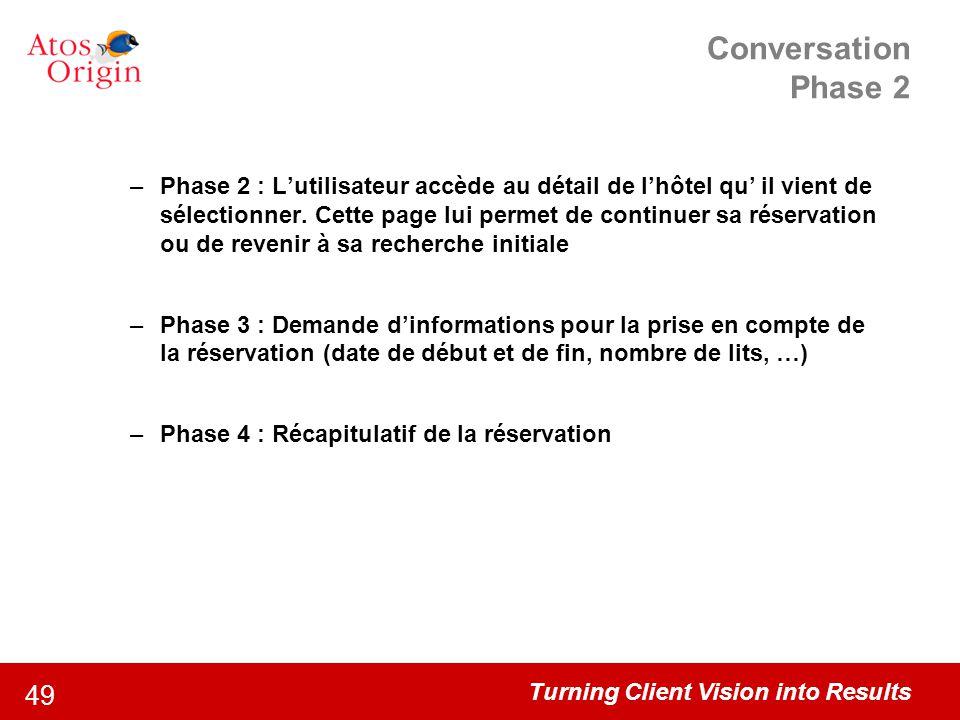 Conversation Phase 2