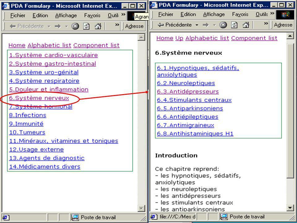 Pocket Exemple de pages html adaptées au Pocket pc