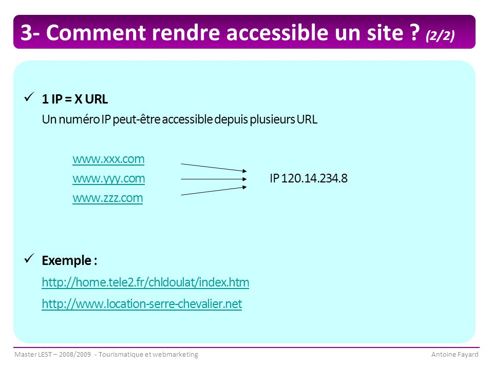 3- Comment rendre accessible un site (2/2)