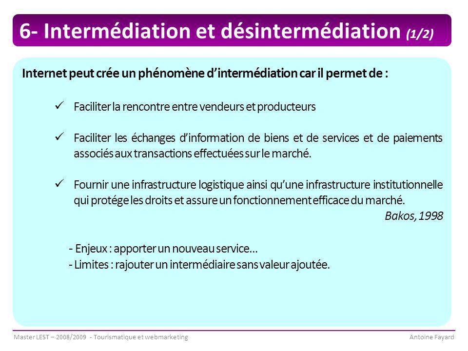 6- Intermédiation et désintermédiation (1/2)