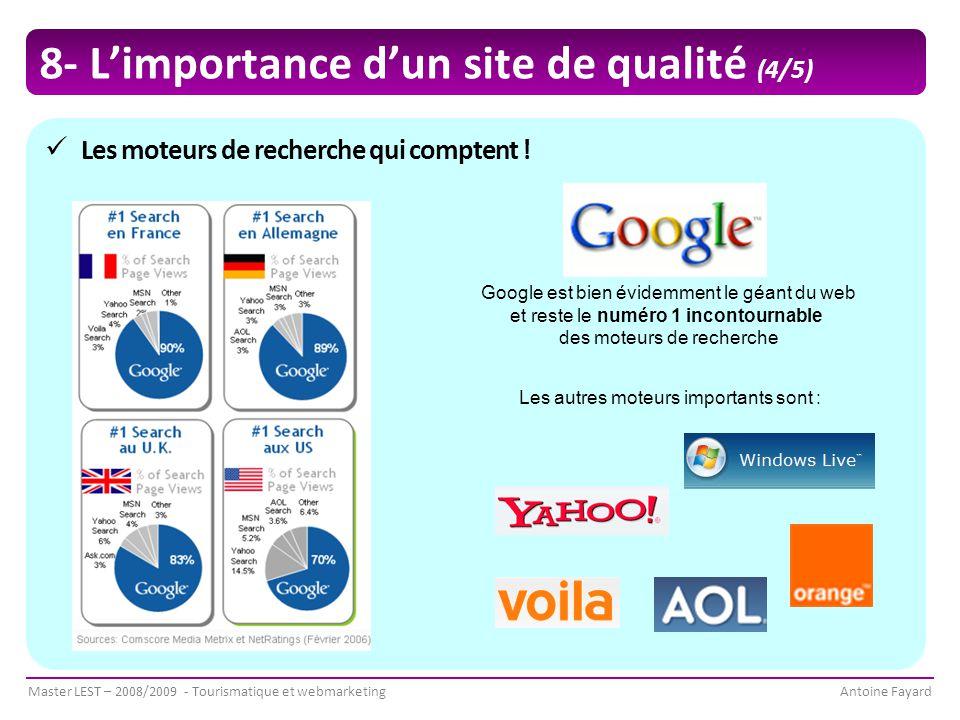 8- L'importance d'un site de qualité (4/5)