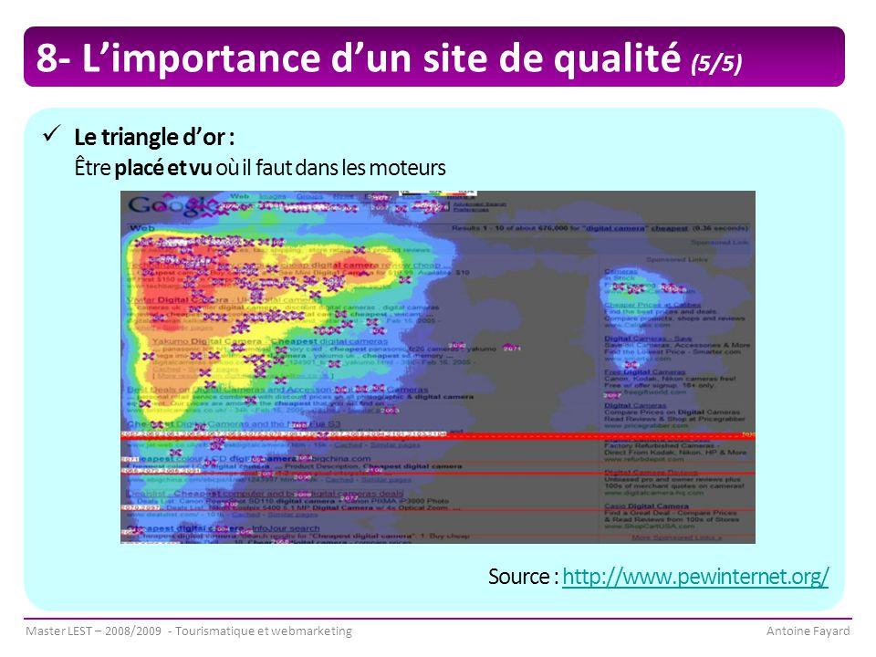 8- L'importance d'un site de qualité (5/5)