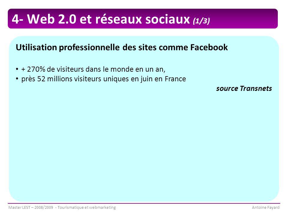 4- Web 2.0 et réseaux sociaux (1/3)
