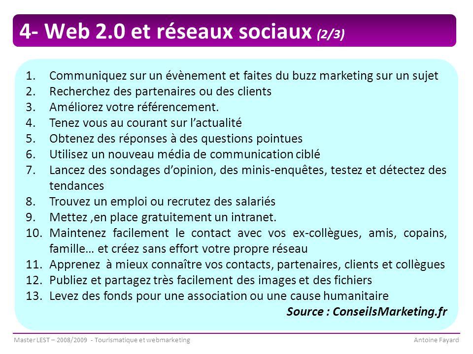 4- Web 2.0 et réseaux sociaux (2/3)