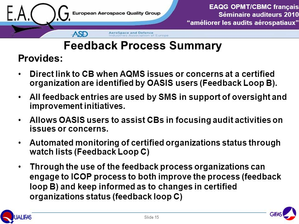 Feedback Process Summary
