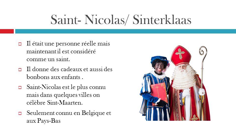 Saint- Nicolas/ Sinterklaas