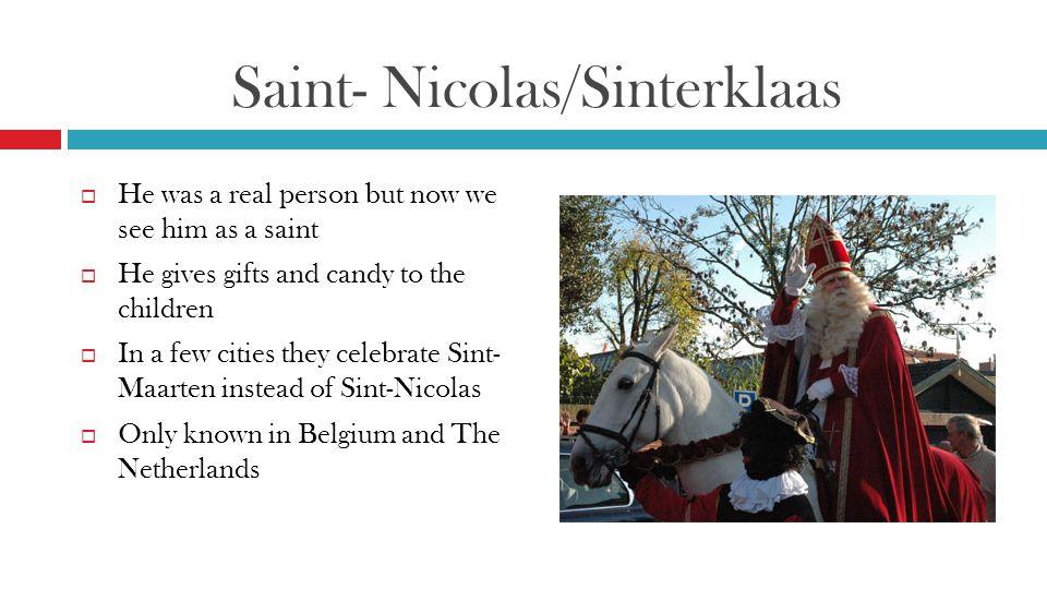 Saint- Nicolas/Sinterklaas