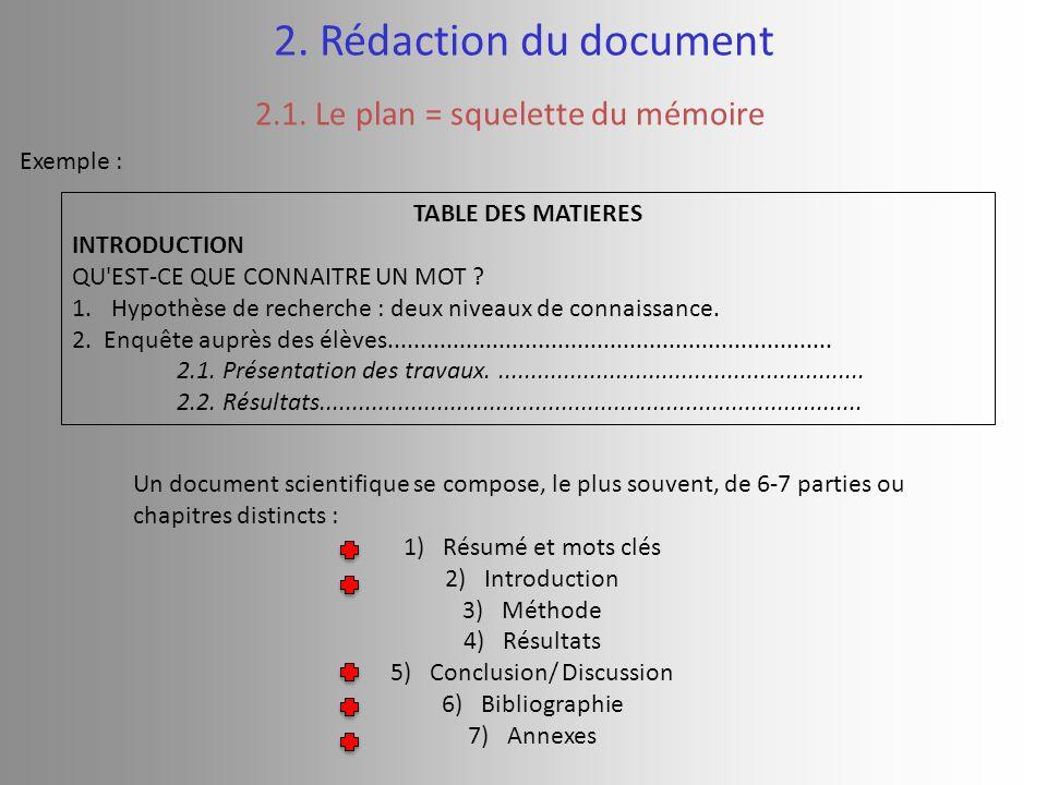 Guide m thodologique pour la r daction d un dossier for Qu est ce que le plan de masse